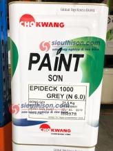 Sơn epoxy tự phẳng Epideck 1000 Chokwang vina
