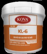 Sơn kim loại sắt thép hệ gốc nước KOVA KL6