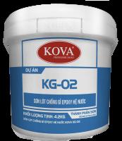 Sơn chống rỉ hệ gốc nước Kova KG-2 cho kim loại, sắt thép