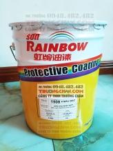 Sơn 1508 Rainbow sơn phủ chịu nhiệt cao 600ºC màu bạc