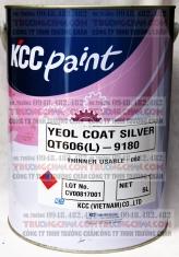Sơn KCC QT606-1999 Black màu đen chịu nhiệt KCC tới 600 độ C