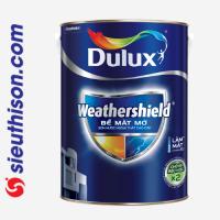 Sơn Dulux Weathershield Bề Mặt Mờ