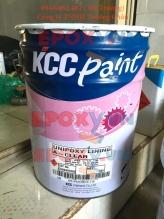 Sơn trong suốt KCC Paint - hệ sơn epoxy không màu